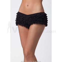 Ruffle Shorts w/Back Bow