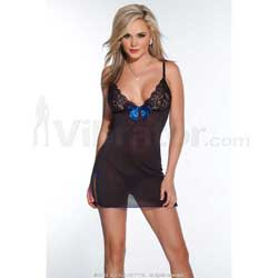 Mesh/Lace Dress