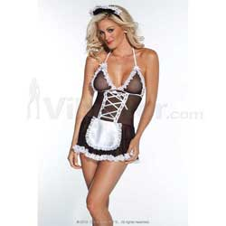 French Maid With Head Piece