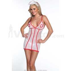 Nurse Dress & Head Piece