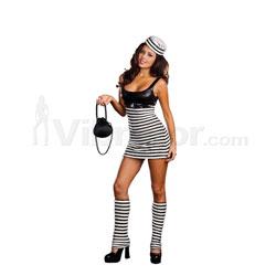 Convict Cutie Costume
