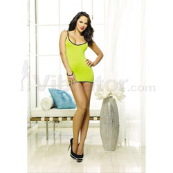 Chemise & Thong Lime