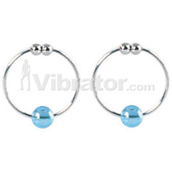 Nipple Rings With Beads