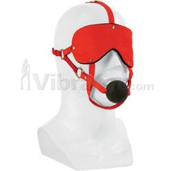 Lover's Headgear Advanced Mask With Gag