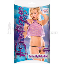 Erotique Butterfly Babydoll