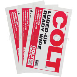 Colt Lubed Up Ready Wipes 3pk